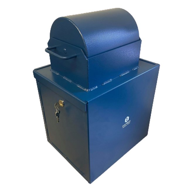 Heavy Duty Roll Top Safe Complete Unit