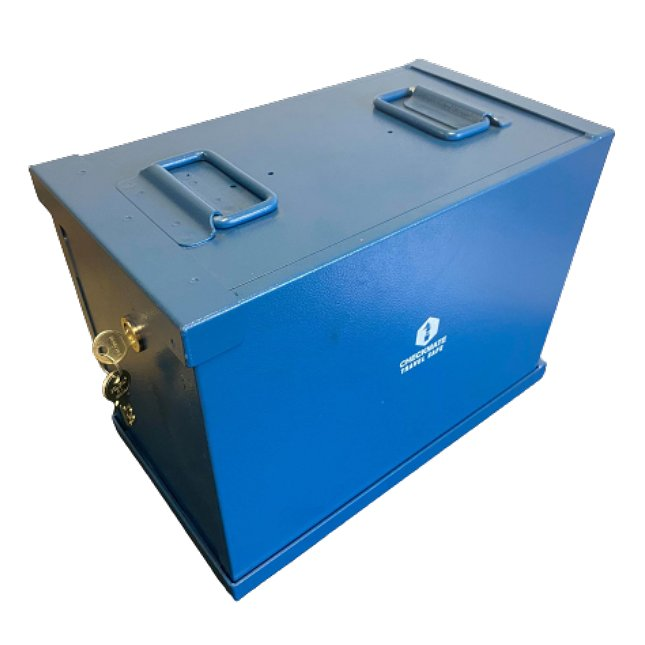Industrial Plain Lid Safe 1 Lock : Complete Unit