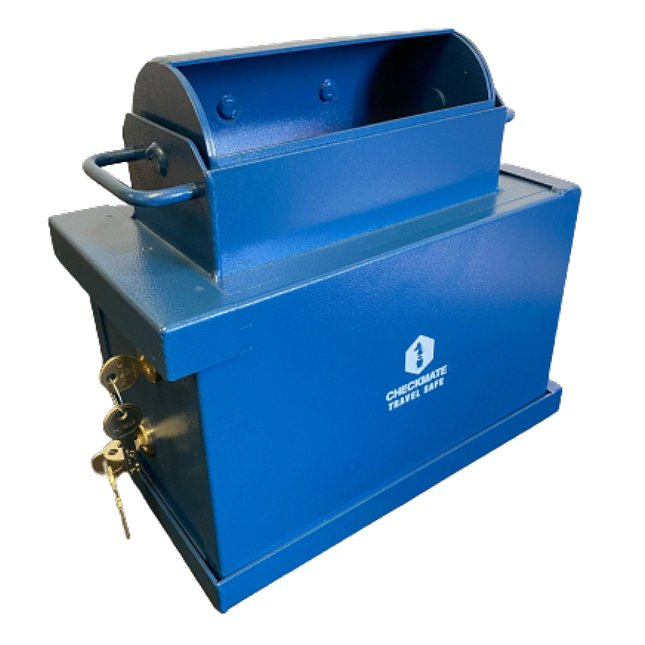Industrial Roll Top Safe 2 Lock : Complete Unit