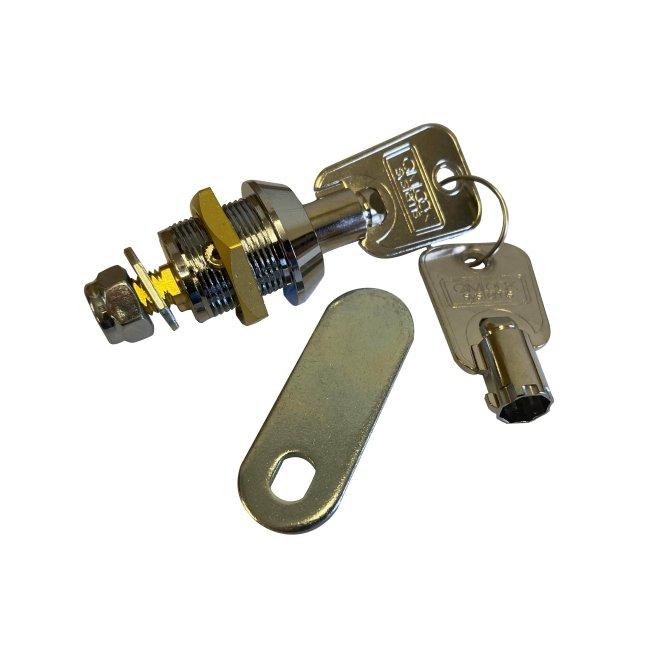 Replacement Camlock Lock & Key Set